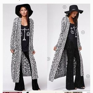 🎉SALE KENDALL & KYLIE  HOODED MAXI DUSTER XS/S(W)